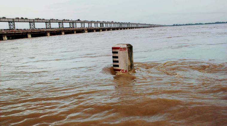 Mahanadi, Mahanadi barrages, Mahanadi barrages Odisha, Mahanadi barrages Chhattisgarh, Mahanadi BJD, BJD, BJD fact finding team, Odisha, Naveen patnaik, river, odisha, India news, Indian express news