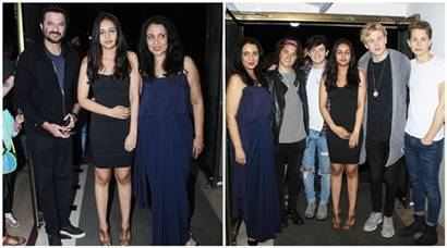 Suchitra Krishnamoorthi celebrated daughter Kaveri's collaboration with Band The Vamps:  Anupam Kher, Anil Kapoor in attendance