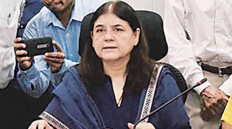 maneka gandhi, maneka, animal abuse, zoos, zoo rules 2009, animals in procession, india news, latest news, indian express