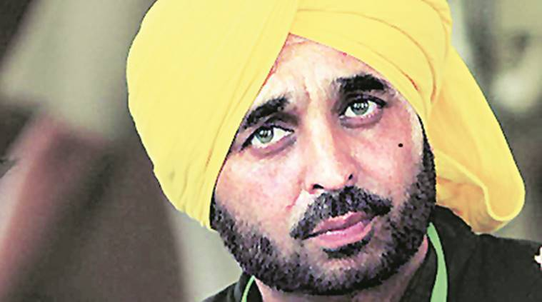 Bhagwant Mann, AAP, bhagwant mann video, bhagwant mann parliamentary house video, bhagwant mann investigation, indian express, india news