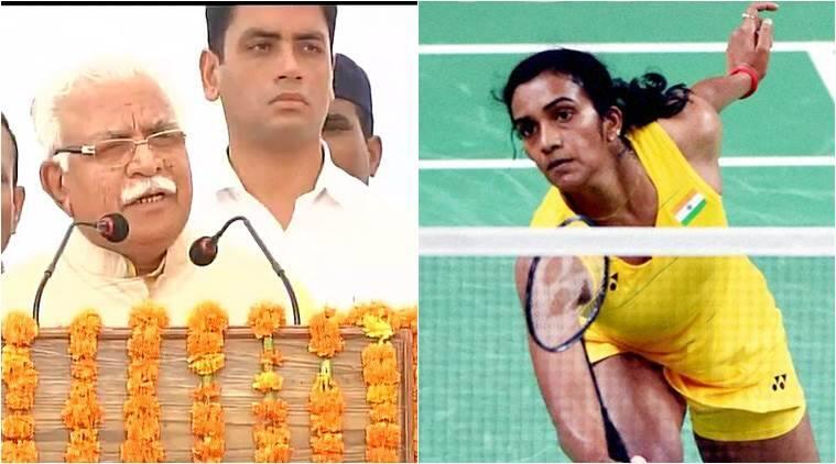 Manohar Lal Khattar said PV Sindhu is from Karnataka