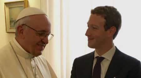Facebook, Mark Zuckerberg, Pope Francis, Zuckerberg meets Pope, Aquila, Priscilla Chan, Facebook CEO, Mark Zuckerberg Pope Francis meeting, social media, technology, technology news