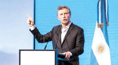 Argentina's Mauricio Macri calls Donald Trump, seeks to rekindle business ties