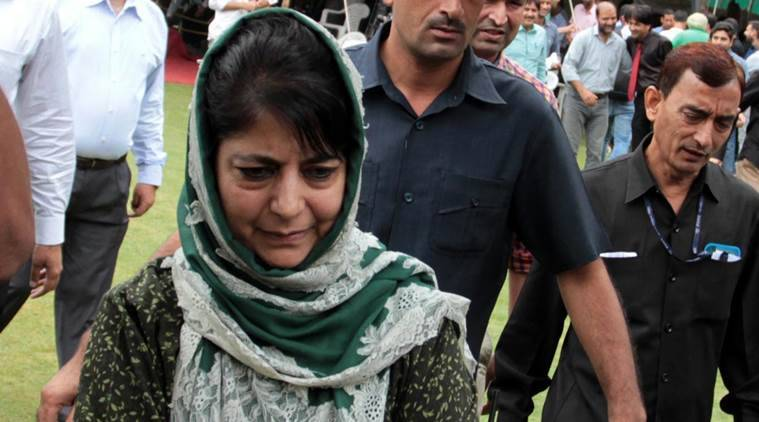 all party delegation, kashmir all party delegation, mehbooba mufti, mehbooba mufti all party delegation, kashmir issue, kashmir news latest, indian express, india news,