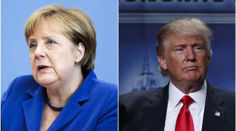 donald trump, angela merkel, germany, germany chancellor, us republican presidential candidate, angela merkel, world news, germany news, latest news, germany refugee policy, germany open door refugee police, open door policy, us news, international news, latest news
