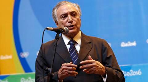 UN: Brazil's Michel Temer says Dilma Rousseff's ouster wasconstitutional