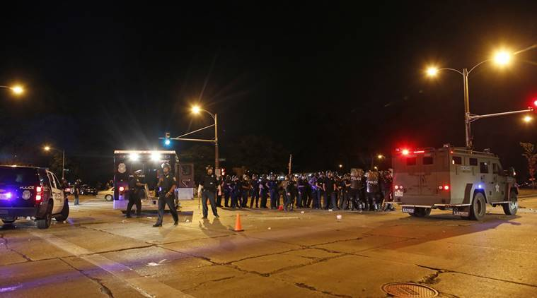 Milwaukee, Milwaukee police chief, Milwaukee police protests, Milwaukee protests, Milwaukee stone throwing, Police hate crimes in US, US news, United States news, world news,