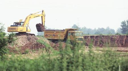 Mohali: As July 1 draws near, illegal miners go intooverdrive