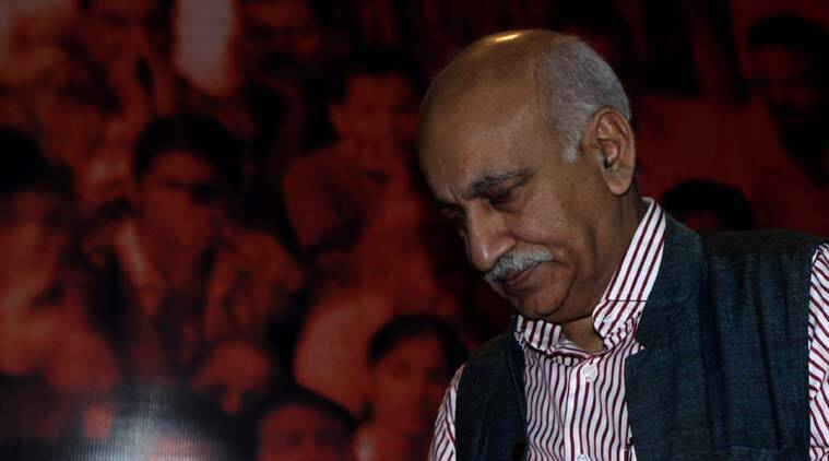 #MeToo movement: Six women speak up, accuse Minister M J Akbar of sexual harassment when he was Editor