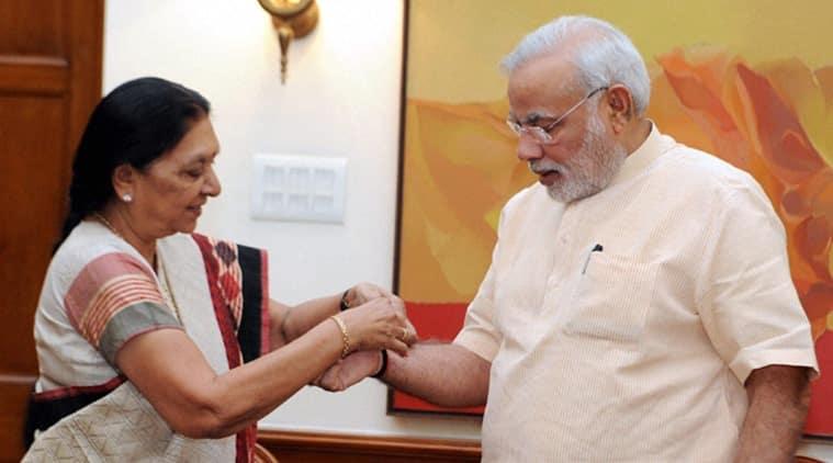 Anandiben Patel and Prime Minister Narendra Modi. (Archives)