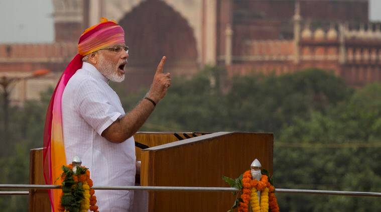 narendra Modi, Modi, Independence day, Independence day 2016, Modi, PM Modi, Prime Minister Narendra Modi, Modi independence day, Pm Modi independence day, Red fort, Pm Modi red fort, Modi speech, Pm Modi speech, Modi independence day speech, Pm Modi red fort speech, Modi government, BJP, BJP government, india news, Latest news, Indian express beyond the news