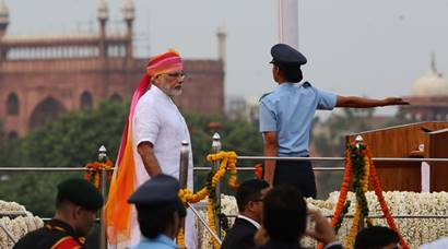 Independence Day 2016: PM Modi unfurls Tricolour at Red Fort