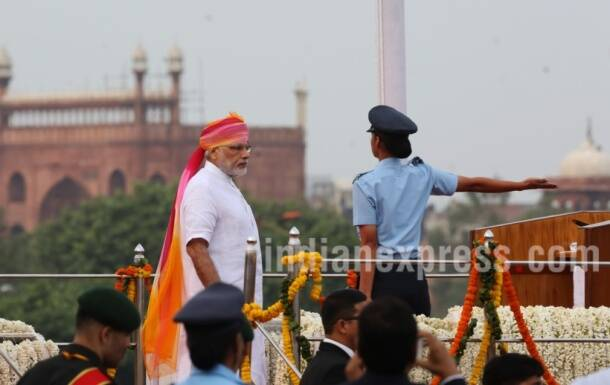 Independence day, independence day 2016, narendra Modi, Modi, PM Modi, Prime minister Narendra Modi, Narendra Modi independence day, Narendra Modi red fort, narendra Modi rajghat, Modi independence day, narendra Modi speech, narendra modi independence day speech, Modi Photos, Independence Day photos, Narendra Modi Pictures, red fort photo gallery