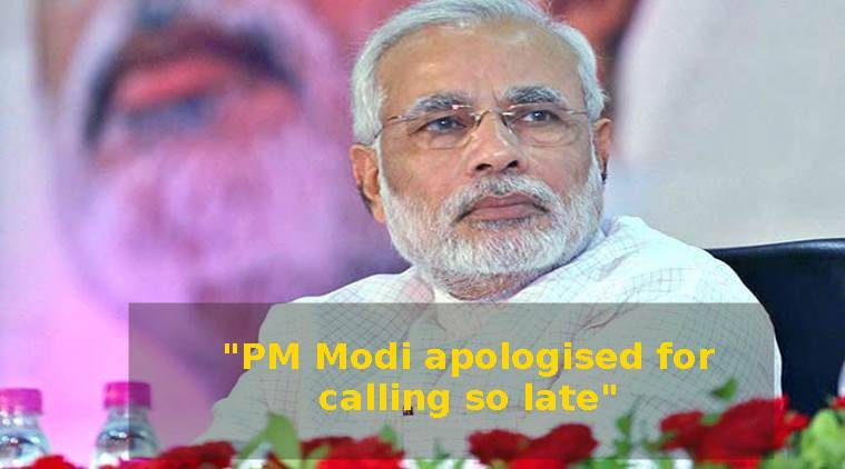 This is why an IAS officer got a call from PM Modi at 10pm in the night