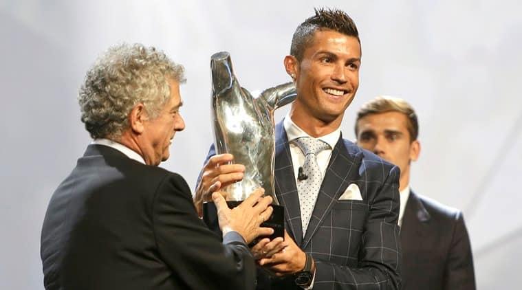 Christiano Ronaldo, UEFA European player of the year, Christiano Ronaldo news, UEFA news, European Championship, Champions League draw, Sports news, latest Sports news, World news, International sports news, latest news