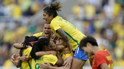 Rio 2016 Olympics: Brazil kick off at home with 3-0 win over China