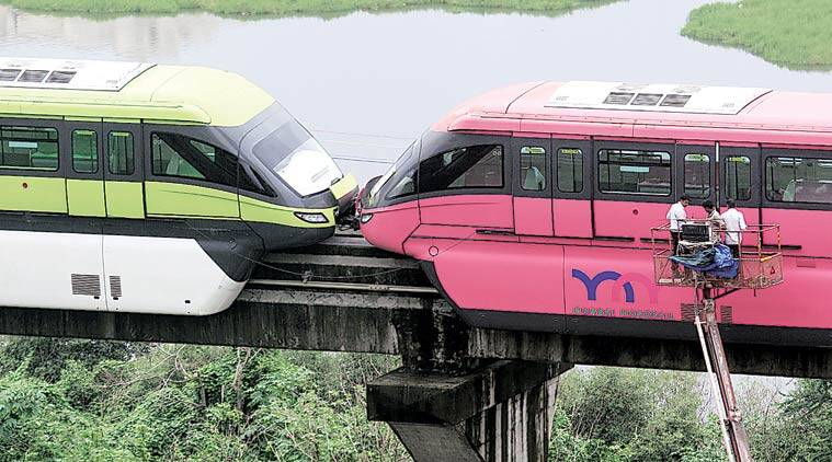 Mumbai Monorail operations: Maharshtra government seeks response on safety compliance from MMRDA mumbai monorail, phase 2, mumbai, maharshtra, commissioner of railways safety, MMRDA, indian express, express online