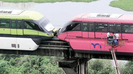 Mumbai Monorail operations: Maharshtra government seeks response on safety compliance from MMRDA Maharashtra news, mono rail, Mono rail in Mumbai, Mumbai Mono rail, mono rail prices in Mumbai, Mono rail fare in Maharashtra, Maharashtra mono rail fare hike in Maharashtra, Latest news, India news, National news, Latest news, India news, National news