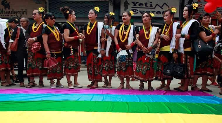 LGBTIQ, Nepal and LGBTIQ, Nepal, Nepal news, sexual minorities support paraded in Nepal, sexual minorities support paraded in Kathmandu, Nepal Constitution, Rights for sexual minorirties in Kathmandu, Latest news, World news