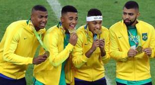 For Brazil, it was always about football