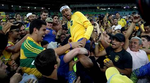 Neymar crowned samba king as hosts end on a high