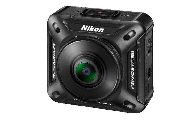 Nikon, Nikon KeyMission 360, KeyMission 360 camera, Nikon 4K KeyMission 360, Nikon new action camera, Nikon camera, Nikon KeyMission 360 vs GoPro, GoPro Hero, Nikon action camera