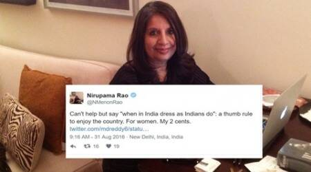 When Twitterati didn't like Nirupama Rao's advice on how women should dress