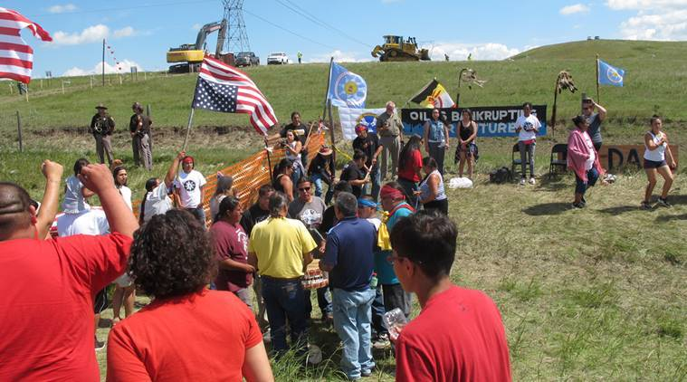 North Dakota, Dakota Access, North Dakota Pipeline protest, US news, United States, world news,
