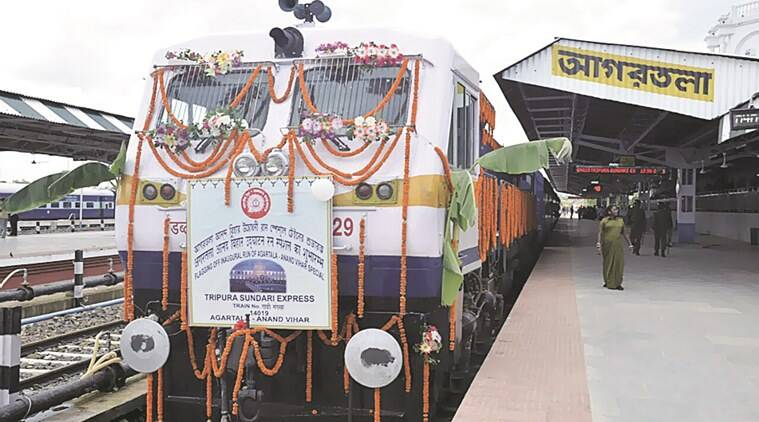 Train between Agartala and Delhi already in place, aim now is travel to Kolkata via Bangladesh and reduce trip by nearly 1,100 km