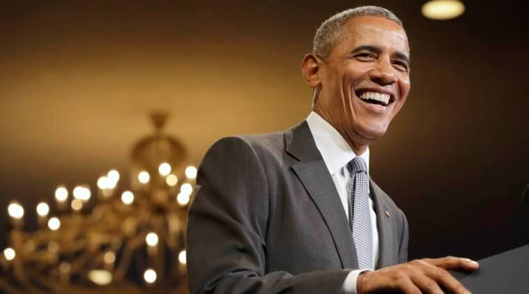 "President Barack Obama laughs as the crowd sings ""Happy Birthday"" to him at the start of his remarks to the Young African Leaders Initiative event at the Omni Shoreham Hotel, Wednesday, Aug. 3, 2016, in Washington. (AP Photo/Jacquelyn Martin)"