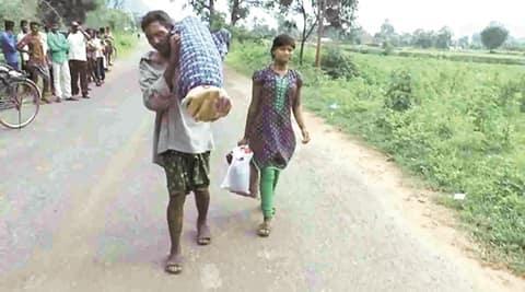 odisha, dana majhi, dana majhi wife, dana majhi dead wife, dana majhi gets money, odisha health facility, poor odisha, sustainable goals, india sustainable goals. india news