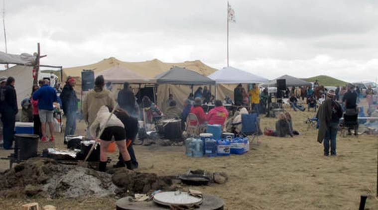 Northwest Indians Join Sioux In North Dakota To Oppose Pipeline