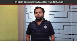 What's In Store For India At The Rio 2016 Olympics On Day Two Of The Extravaganza