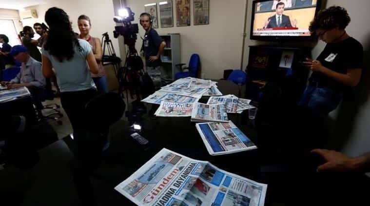 turkey, turkey coup, turkey newspaper, Ozgur Gundem, Ozgur Gundem newspaper, Kurdish newspaper, Kurdistan Workers' Party, turkey news, world news