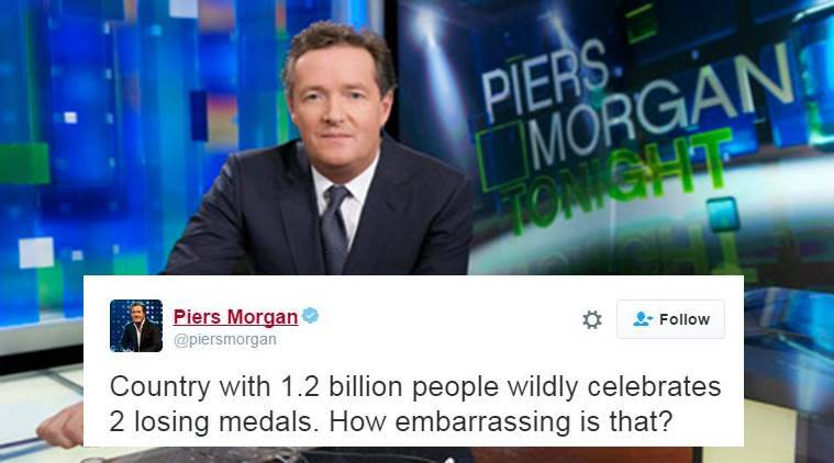 Piers Morgan got trolled by Indians but he also trolled back