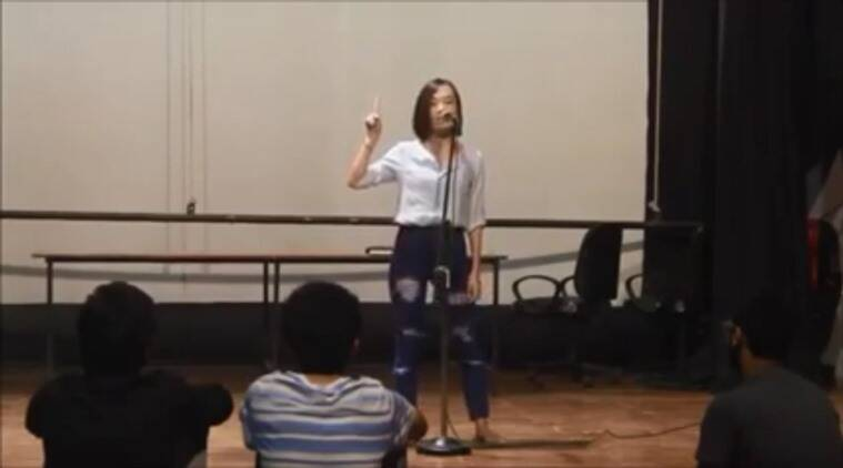 Five Rules for whomever it may concern, Vinatoli Yeptho, poem by north eastern girl, National Youth Poetry Slam, poem against racism