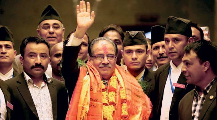 prachanda, Pushpa Kamal Dahal, nepal, nepal prime minister, nepal om, kp oli, communist party nepal,