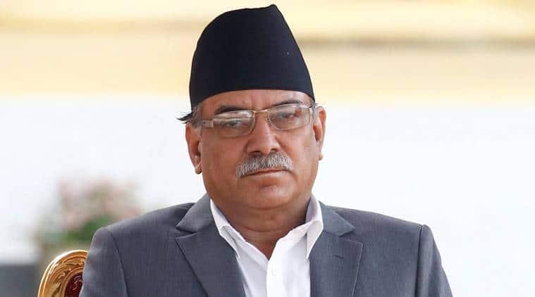 Pushpa Kamal Dahal, prachanda, nepal, kp oli, kp oli resign, maoist, india nepal, india china, india nepal china, nepali congress, indian express news, world news