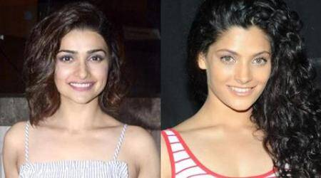 From L to R: Prachi Desai and Saiyami Kher.