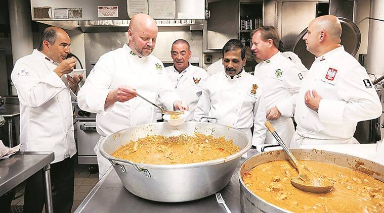 rashtrapati bhavan, rashtrapati bhavan kitchen, pranab mukherjee, pranab mukherjee kitchen, pranab mukherjee chef, caviar, chef machindra kasture, food, cusine, president food, president chef, best chef of india, national tourism award, indian express talk