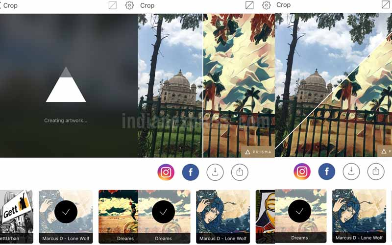 Prisma update improves processing time, adds split screen on iOS