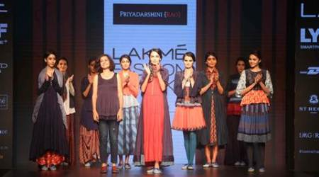 lakme fashion week, lakme fashion week 2016, LFW 2016, Priyadarshini Rao, bollywood, Priyadarshini rao LFW 2016, Priyadarshini rao 2016 collection, fashion news, LFW 2016 news, latest news,