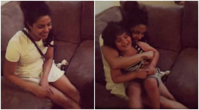 Priyanka Chopra's cute video playing with the kid of her Quantico co-star is hard to miss | The ...