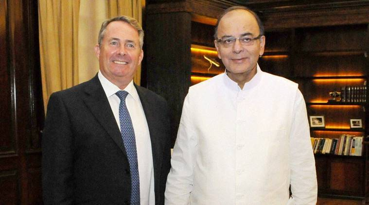 liam fox, UK secretary of states liam fox, liam fox in india, UK trade india, United kingdom, Arun jaitely, joint Economic and Trade Committee, JETCO, latest india news, latest trade news, india UK, england