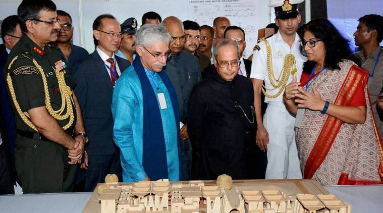 Nalanda University, President, Pranab Mukherjee, foundation stone, foundation laying ceremony, permanent campus, nalanda univeristy bihar, rajgir, India news