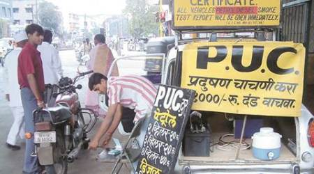 Only 244 centres authorised to issue PUCs inPune