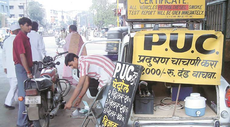 Pune, Pune pollution under control, pollution under control, Pune pollution,  Pune Regional Transport Office, RTO, pollution under control unit Pune, Pune news, latest news