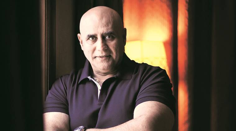 Actor and director, Puneet Issar. Express photo by Oinam Anand. 04 August 2016