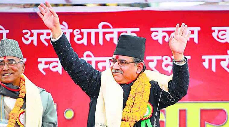 nepal, Pushpa Kamal Dahal, Prachanda, nepal consititution, nepal new constitution, k p oli, mepal china relations, nepal india relations, nepal china trade deal, nepal maoist party, nepal blockade, nepal army, nepal news, india news, indian express column