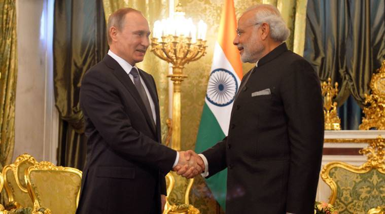 india russia, russia india, india russia news, narendra modi vladimir putin, modi putin, india russia gas delivery line, india russia direct gas delivery line, india russia enegry bridge, india russia talks, world news, india news, indian express